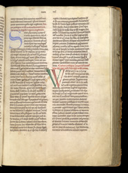 Decorated Initials, In A Volume Of Historical Works By William Of Malmesbury And Geoffrey Of Monmouth f.76r